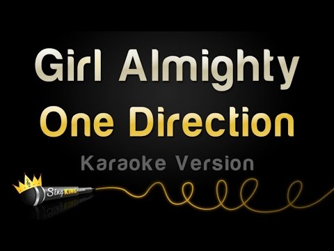 One Direction - Girl Almighty (Karaoke Version)
