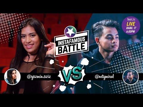 Yazmin Aziz vs. Amirul Nasty Rock Crew   Instafamous Battle