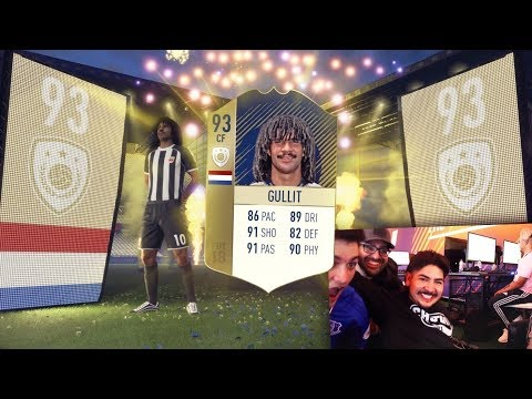 PRIME ICON GULLIT IN A PACK FIFA 18 PACK OPENING