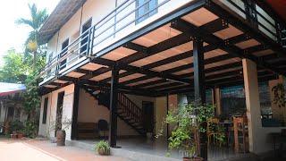 Căn nhà Khung thép tiền chế + Tấm bê tông nhẹ Lightwall, giá chưa đến 450 triệu - Kim Long Group