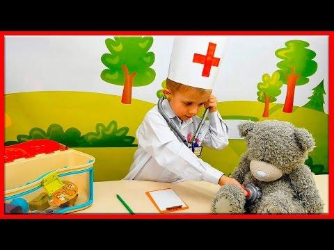 Видео для Детей про Доктора Даника все серии подряд. Ролевые игры для ребёнка. Doctor child costume