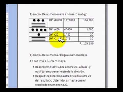 ¿Cómo se escriben los números mayas? - YouTube