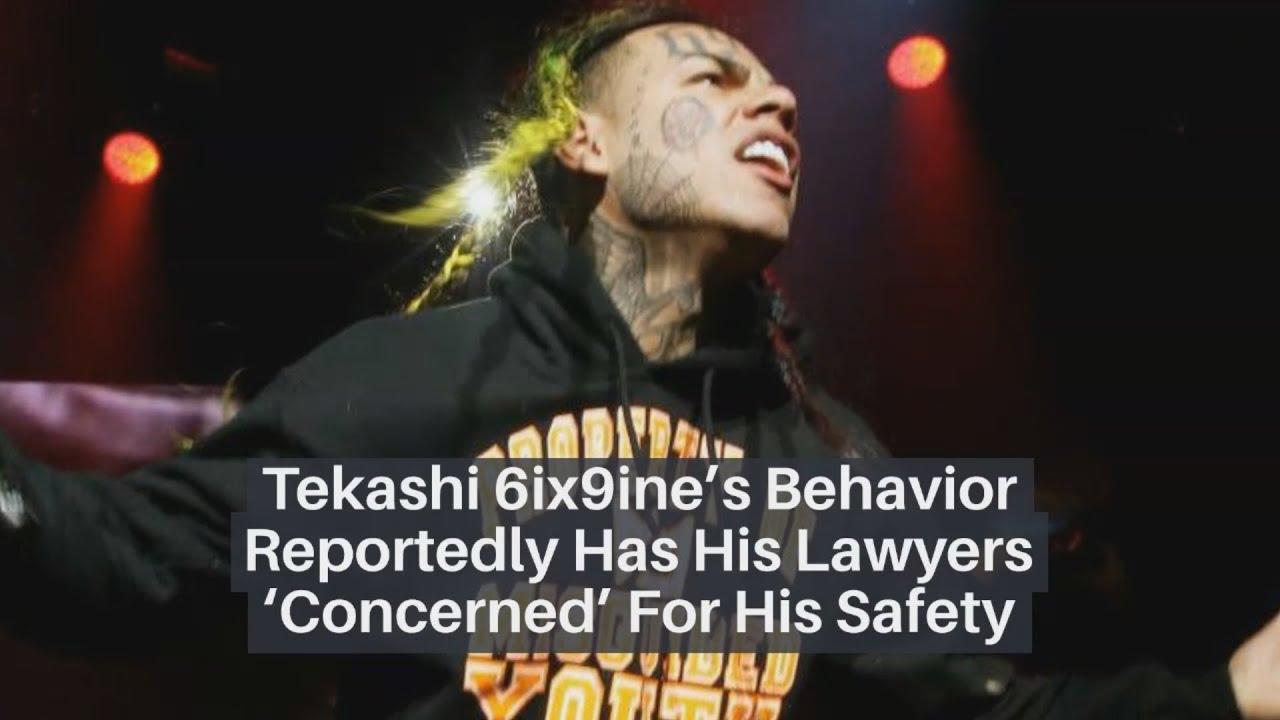 Tekashi Behavior Reportedly Has His Lawyers 'Concerned' For His Safety