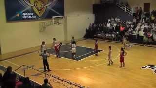 Mieleras vs Marineras Jornada 13 - Temporada 2015 - Liga Nacional de Baloncesto Profesional Femenil