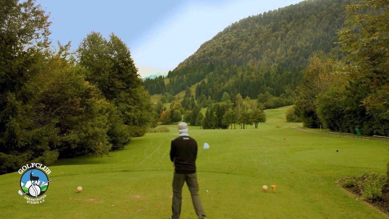 Golfclub oberstaufen steibis vorstellung loch 1 ultrahd for Oberstaufen golf