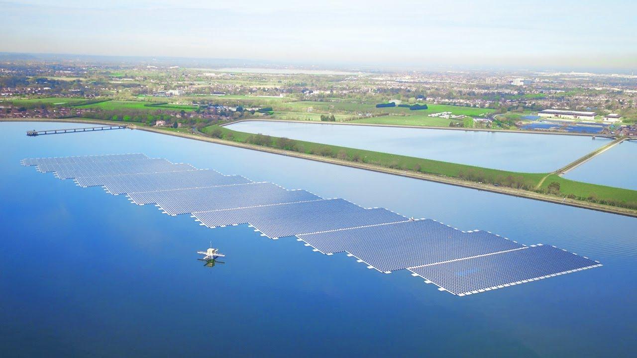 ĐMT nổi tiết kiệm được diện tích lắp đặt dàn pin mặt trời
