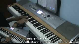 Love Live - Aishiteru Banzai (Piano,Flute,Saxophone) [Full Version]