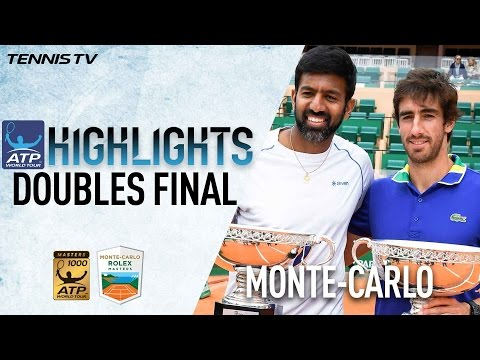 Highlights: Bopanna/Cuevas Combine To Rule At Monte-Carlo 2017