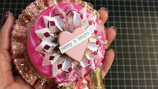Winter & Holiday Lollipop Rosette Wands!