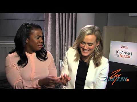 Orange Is The New Black - Uzo Aduba and Taylor Schilling - ZayZay.Com