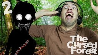 CASI ME CAIGO DE LA SILLA DEL SUSTO! | The Cursed Forest | Parte 2 - JuegaGerman
