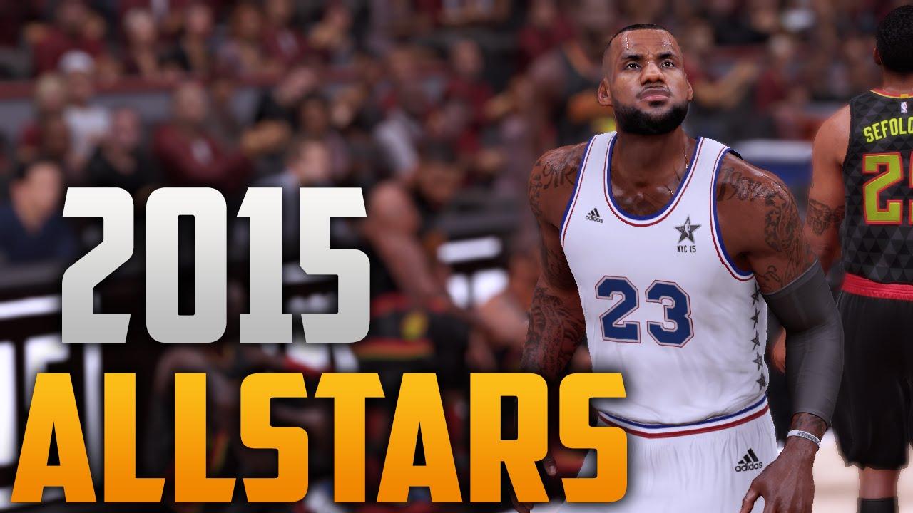 NBA 2K16 2015 NBA Allstar Jersey   Court Tutorial - YouTube f705eabba