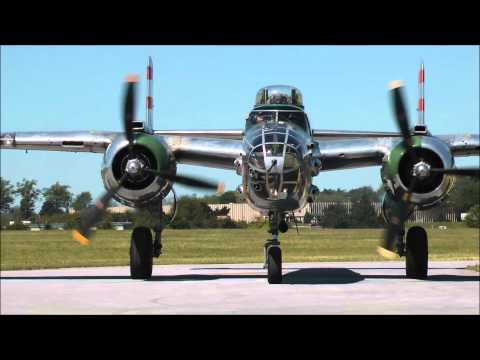 [HD] WWII Weekend 2014: Bombers Part 1