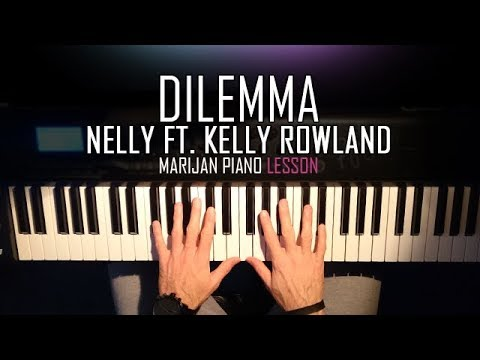 How To Play: Nelly ft. Kelly Rowland - Dilemma | Piano Tutorial Lesson