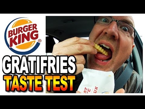 Burger King Satisfries - Gratifries Review and Drive-Through Test