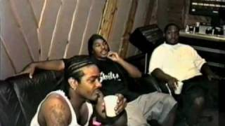 cam ron interview rapping with jim jones freekey zekey vintage footage pre s d e