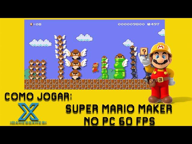 Como Jogar Super Mario Maker no PC + GamePlay
