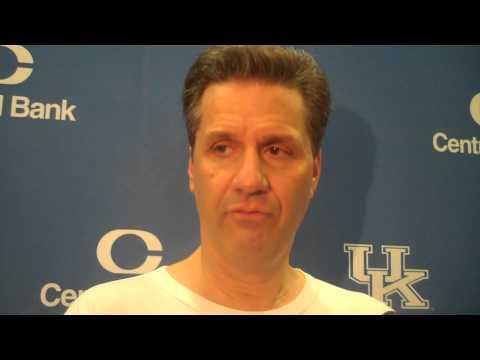 Kentucky Coach John Calipari on DeAndre Liggins
