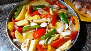 اكلة صيفية سهلة وسريعة متشبعوش منها لا تفوتكم