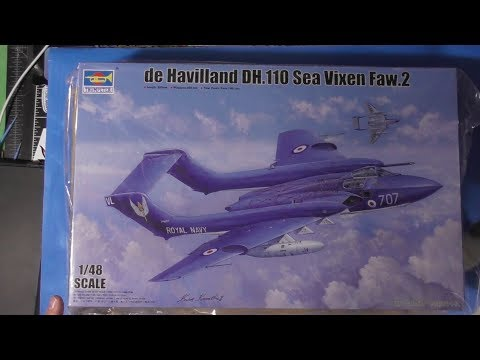 It's here!!! Sprue Review Trumpeter 1/48 de Havilland Sea Vixen Faw.2