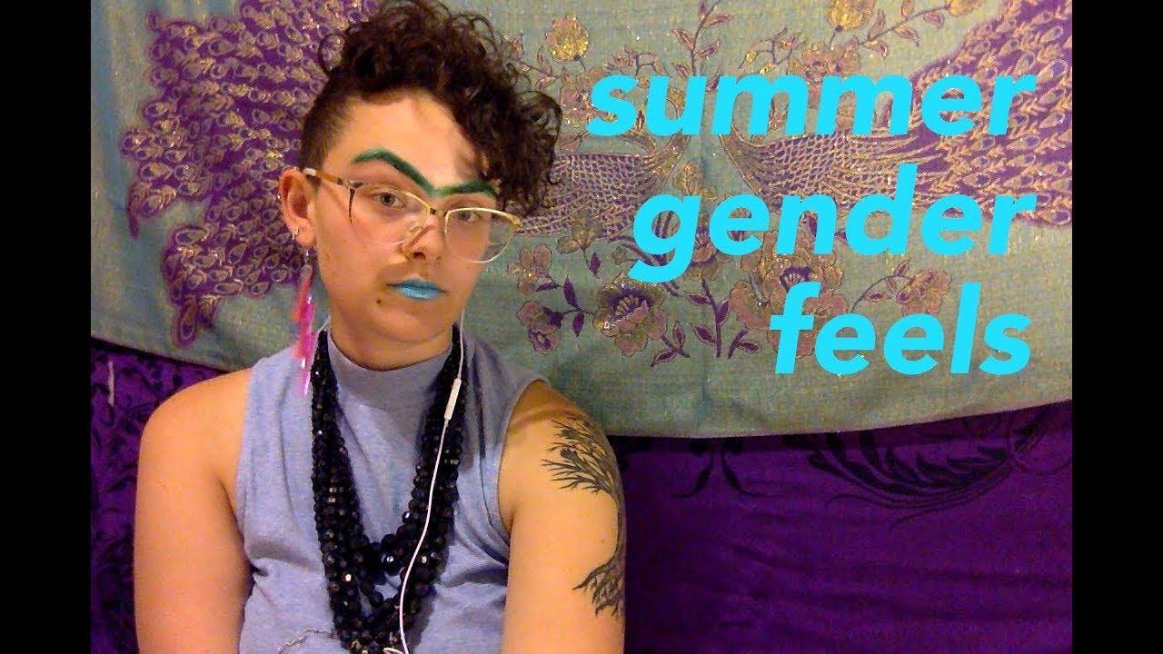 trans nonbinary femme vlog 1  YouTube