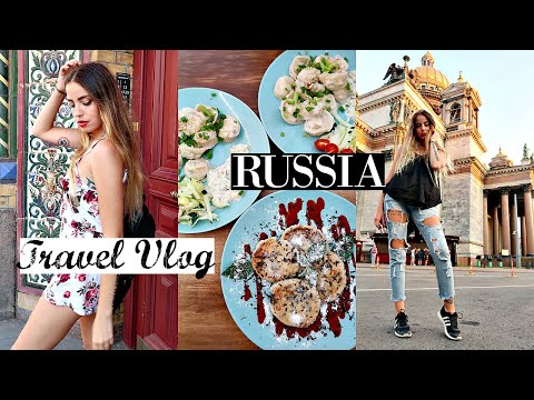 Russia Travel Vlog // Vegan Food In St. Petersburg