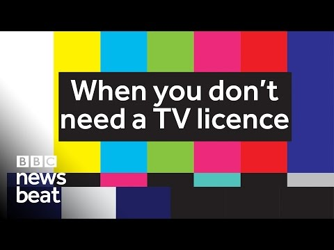 When you don't need a TV licence | BBC Newsbeat