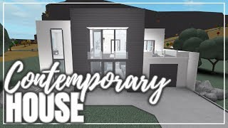 ROBLOX | Welcome To Bloxburg | Contemporary House (100K)