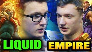 LIQUID vs EMPIRE - MIRACLE HUSKAR The International 2017 Main Event [Game 2 bo3]