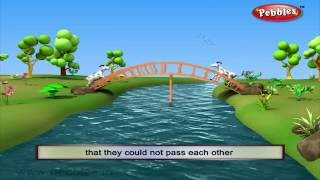 Two Silly Goats | 3D Grandma Stories in English | 3D Moral Stories in English For Kids