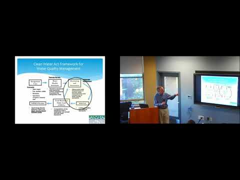 Sustainability Seminar Series: Monitoring Water Quality to Ensure Sustainability (Ron McGillivray)