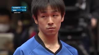 アジアカップ 男子シングルス5・6位決定戦 張本智和vs丹羽孝希