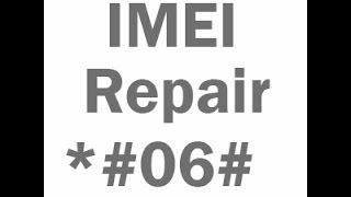 how to repair imei number in android