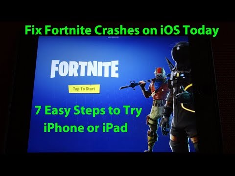 How To Fix Fortnite Mobile Crashes On IOS - 7 Steps To Try Today