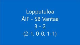 ÅIF-SB Vantaa maalit+pressi 28.3 2018