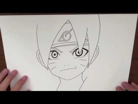Comment dessiner boruto naruto facilement - Dessin de naruto akkipuden ...