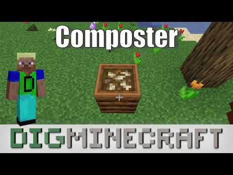 How To Use A Composter In Minecraft