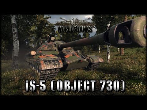 World Of Tanks - Live: IS-5 (Object 730) Premium [ Deutsch | Gameplay ]