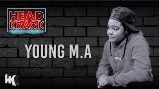 Young M.A - Knowing When She Liked The Same Sex, Dating & What's Her Go-To Playlist  (Part #2)