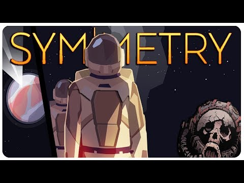 Symmetry - Is that an ALIEN MONOLITH? (Sheltered in Space) | Symmetry Gameplay