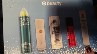 Target Hairspray Beauty Box November
