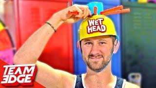 Wet Head Challenge!! 💦