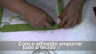 TUTORIAL PATCHWORK EMBUTIDO – PORTA CHAVES