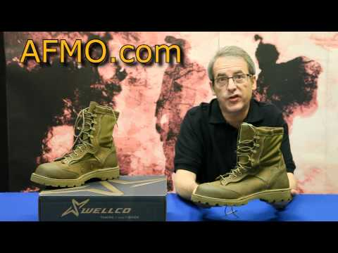 Usmc Issue Bates Hot Weather Boots Doovi