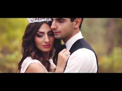 Красивая армянская свадьба. Мгер и Нарине 26 сентября 2015