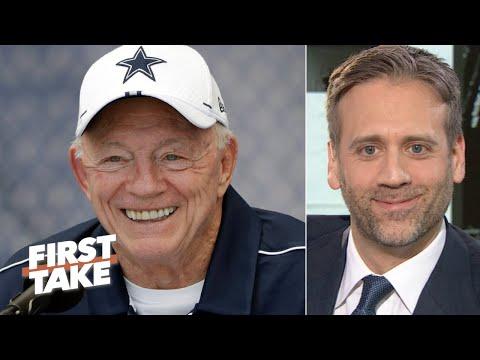 'Tis The Season' To Criticize Jerry Jones – Max Kellerman | First Take