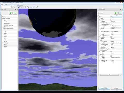 GPU clouds dtEntity OpenSceneGraph with osgEphemeris
