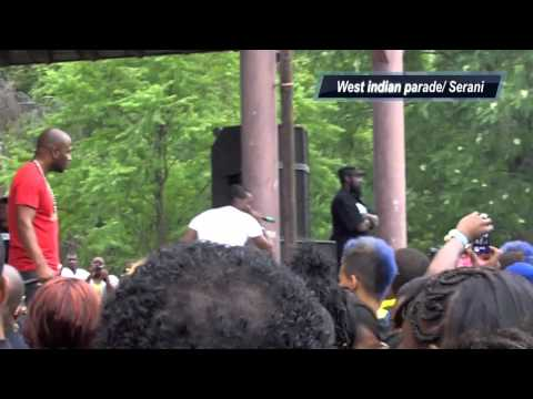 Serani at The west indian parade in Hartford CT 08/13/11
