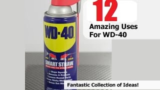 ★12 Amazing Uses for WD 40