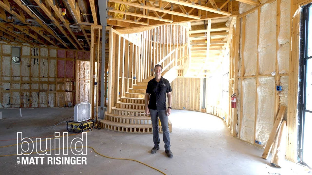 Spiral Staircase How We Framed It Youtube   Building A Spiral Staircase Wood   Attic Stairs   Staircase Ideas   Outdoor Spiral   Curved Staircase Design   Attic Ladder